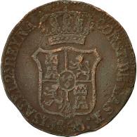 Monnaie, Espagne, CATALONIA, Isabel II, 6 Quartos, 1843, Barcelone, TB+, Cuivre - [ 1] …-1931 : Kingdom