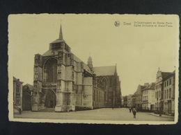 Diest St-Sulpiciuskerk En Groote Markt - Diest