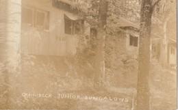 Quinibeck Junior Bungalows, Lake Fairlee, Vermont RPPC - United States