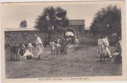 Adi Ugri Mendefera, Il Carovanserraglio, Eritrea - F.p. - Anni '1910 - Eritrea