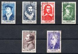Série Célébrités   / N 1066 à 1071 /  Oblitérés / Côte 51 € - Used Stamps