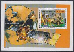 Guinée BF N° 273 XX Espace : Exploration De Mars : Véhicule Robot : Spirit, Le Bloc Sans Charnière, TB - Guinea (1958-...)