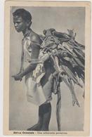 Una Schiavetta Portatrice, Colonia Italiana In Africa Orientale, Eritrea - F.p. - Anni '1930 - Eritrea