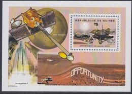Guinée BF N° 274 XX Espace : Exploration De Mars : Véhicule Robot : Opportunity, Le Bloc Sans Charnière, TB - Guinea (1958-...)
