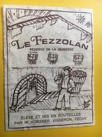 8626 -  Le Fezzolan Réserve De La Jeunesse Suisse Kursner Féchy - Etiquettes