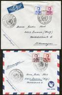 Royaume Du Maroc, 11 Bedrafsbriefe/FDC`s 1966-68, Siehe Abbildungen - Marruecos (1956-...)