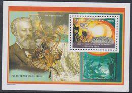 """Guinée BF N° 281 XX Littérature : Jules Verne : """"La Chasse Au Météor"""", Le Bloc Sans Charnière, TB - Guinea (1958-...)"""