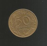 FRANCE - FRANCIA - 50 Centimes ( 1963 ) - Francia
