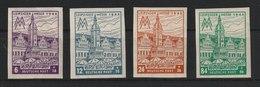 West-Sachsen / Leipziger Messe  /  MiNr.: 162 BX - 164 BX - Soviet Zone
