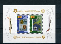 "Sri Lanka - Block Nr. 102 - ""50 Jahre Europamarken"" ** / MNH - Sri Lanka (Ceylan) (1948-...)"