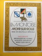 8635  -  La Montoise Mont Sur Rolle Suisse Ubis Dans L'Amitié Illnau-Effretikon - Etiquettes