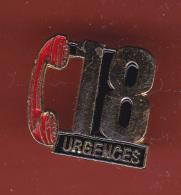 53180- Pin's.Sapeurs Pompiers.18.urgences.. - Firemen