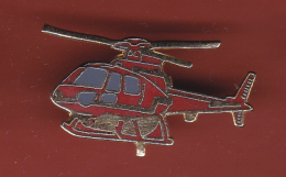 53185- Pin's.Helicoptère..Sapeurs Pompiers.18.urgences. - Firemen