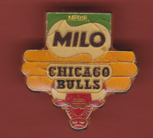 53189- Pin's-Basketball.chicago Bulls.Nestlé Milo.. - Basketball
