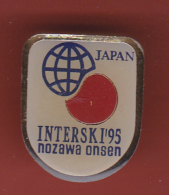 53195- Pin's-Interski 1995 à Nozawa Onsen, Japon.. - Winter Sports