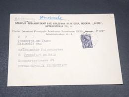 U.R.S.S. - Enveloppe De L 'académie Des Sciences Botaniques De Moscou Pour L 'Allemagne - L 19777 - 1923-1991 USSR