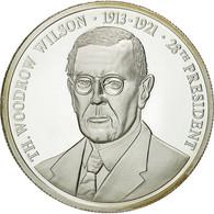 United States Of America, Médaille, Les Présidents Des Etats-Unis, T. Wilson - USA