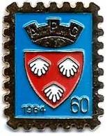 TP1 - TIMBRES - APC 1964 - BLASON -  Verso : SM - Mail Services