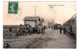 PLOUIDER - LA GARE Cachet BRIGNOGAN LANDERNEAU - Frankreich