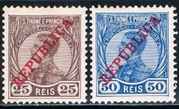 S. Tomé, 1912, # 115/6, MH - St. Thomas & Prince