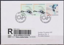 Lichtenstein FDC 2008  MiNr. 2x1499+1500 Einschreiben Technische Innovationen ( D 6183 ) Günstige Versandkosten - FDC