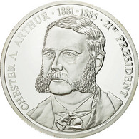 United States Of America, Médaille, Les Présidents Des Etats-Unis, C. Arthur - USA