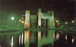 Canada > Ontario > Peterborough, Night View Of The World's Highest Lift In Kawartha Wonderland, Used 1972 - Peterborough
