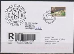 Lichtenstein FDC 2008  MiNr.1501 Ortsbildschutz Einschreiben ( D 6184 ) Günstige Versandkosten - FDC