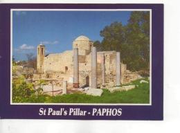 Postcard - Cyprus - St. Paul's Pillar - Paphos - Unused Very Good - Unclassified