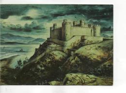 Postcard - Art - Alan Sorrell - Harlech Castle - Merioneth - Unused Very Good - Unclassified