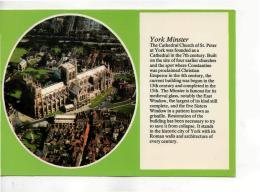 Postcard - York Minster - Unused Very Good - Unclassified