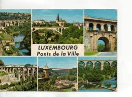 Postcard - Luxembourg - Ponts De La Ville 6 Views - Posted 15th June 1977 Very Good - Unclassified