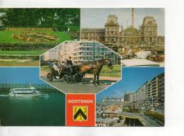 Postcard - Oostende - Five Views - Unused Very Good - Unclassified