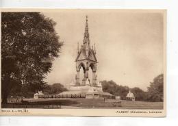Postcard - Albert Memorial, London - Series A. No.41 - Unused Very Good - Unclassified