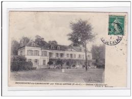 HENDECOURT-les-CAGNICOURT : Chateau D'hendencourt - Tres Bon Etat - France