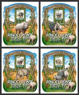Mozambique. 2015 Black Rhinoceros. (207d) - Rhinozerosse
