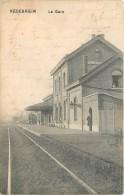 Néderheim Près De Tongres Et Riemst -  La Gare - België