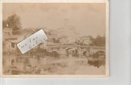 44 - CLISSON  - Photo Très Ancienne  Sur Support Cartonné  ( 18 Cm X 13 Cm )     ( Rare ) - Places