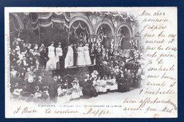 42.Saint-Etienne. 14 Juillet 1900. Couronnement De La Muse Du Peuple. 1901 - Saint Etienne