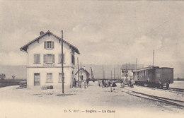 Sugiez - La Gare Avec Train          (P-164-60712) - FR Freiburg