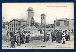 42.Saint-Etienne. Monument F. Dorian. Franchise 13è Régiment - Hôpital Temporaire N°. 18 St. Etienne. Août 1918 - Saint Etienne