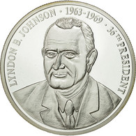 United States Of America, Médaille, Les Présidents Des Etats-Unis, L. Johnson - Etats-Unis