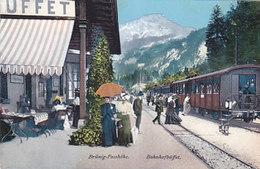 Brünig Bahnhofbuffet Mit Zug - Schöne Animation         (P-164-60712) - BE Bern