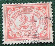 2 1/2 Ct Cijfer NVPH 104 1922 1912-1930 Gestempeld / Used INDIE / DUTCH INDIES - Niederländisch-Indien