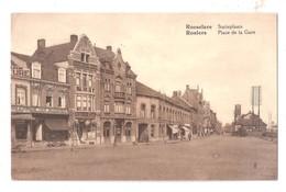 BELGIQUE ROULERS ROUSSELARE PLACE DE LA GARE STATIEPLAATS  Unused - Roeselare