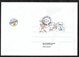 St.Pierre Et Miquelon .N° 1170 & 1192 Sur Enveloppe .OBLITERE St.Pierre - St.Pierre & Miquelon