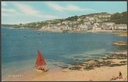 St Mawes, Cornwall, 1976 - Salmon Postcard - England