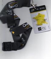 Tour De France. Carte Avec Parcours Et Tour De Cou Century 21. TDF 2018. - Advertising