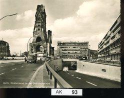 AK093, Berlin, Kaiser-Wilhelm-Gedächtniskirche - Allemagne