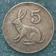 Zimbabwe 5 Cents, 1980 ↓price↓ - Zimbabwe